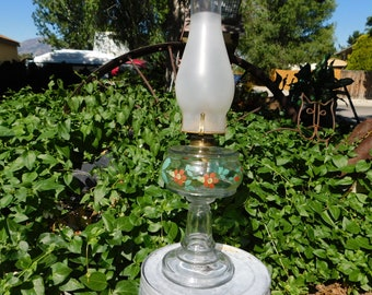 Hurricane Kerosene Light Lamp Vintage, Vintage Oil Lamp, Vintage Lamp, Vintage Home Decor,  20 Inches Tall  :)s*
