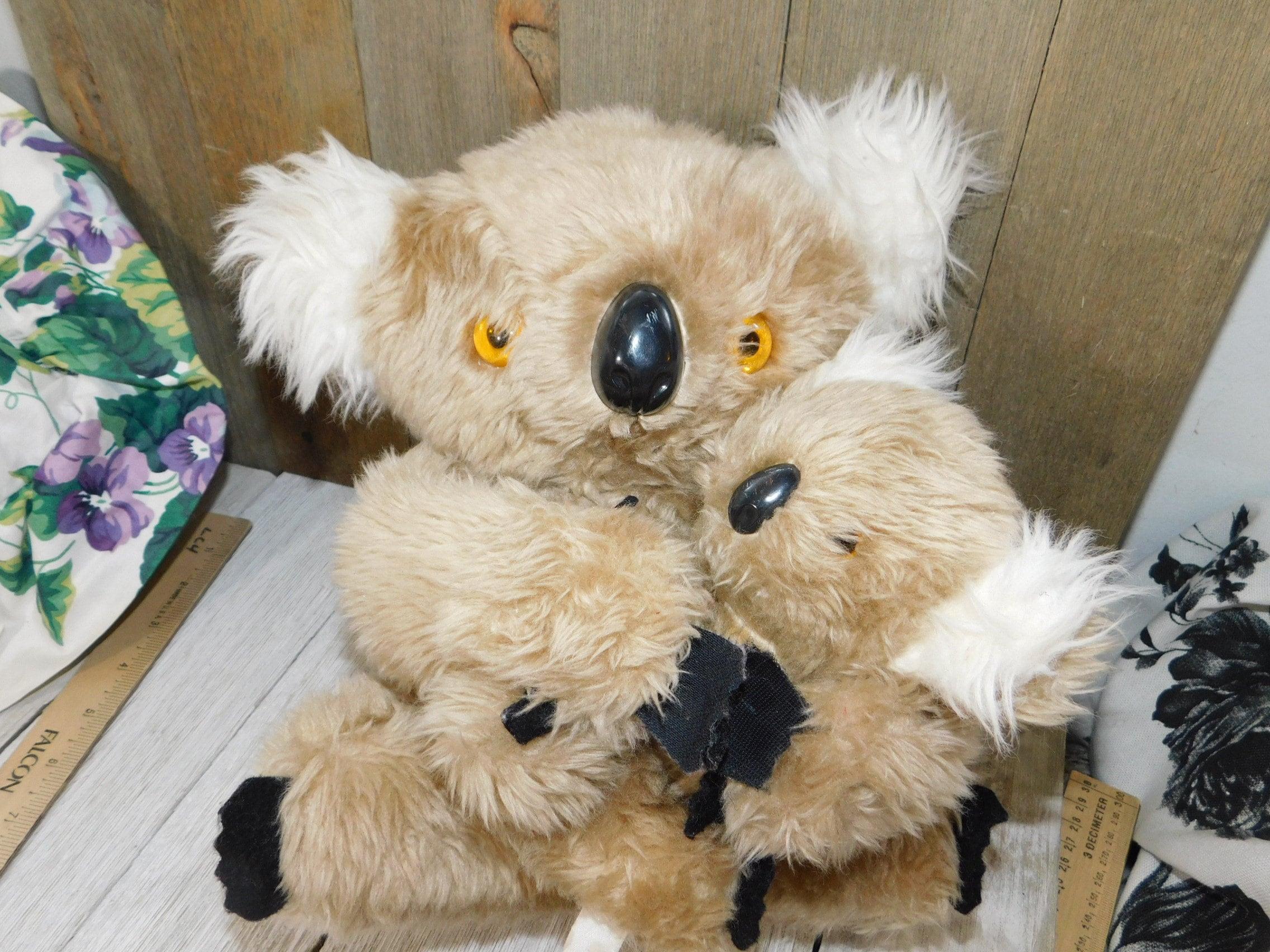 fdfaefa4f2e02a Mommy and Baby Koala Bears Set Vintage Koala Bears Koala