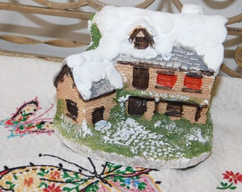 Small House, House, Sweet Little house Cottage, Collectible House, Home Decor, House for village, House for Town, House for train, Prop :)s*