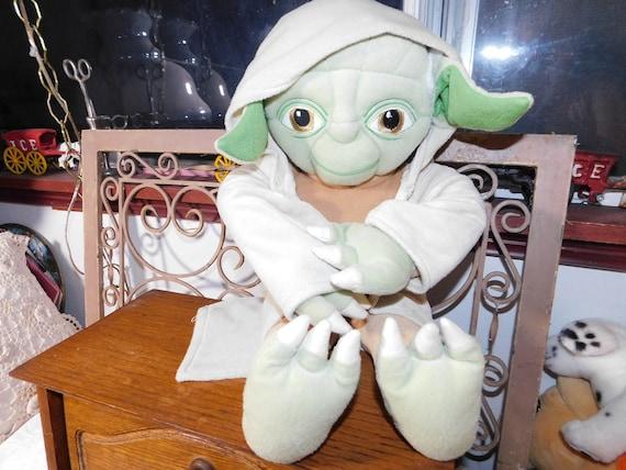 Yoda Star Wars Lucas Film Star Wars Stuffed Yoda Toy Etsy