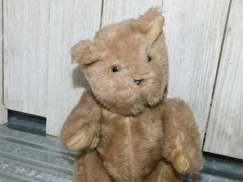 s* Jointed Teddy Bear R.R Toys, Sweet 1982, Jointed Teddy Bear, Teddy Bear, Bear, Vintage Stuffed Toys, Vintage toys,  :