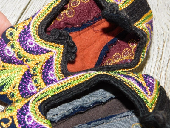 India Childs Slippers, Casket Slippers ?, Slip On… - image 7