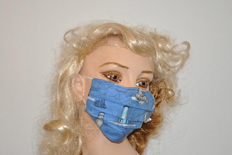 hospital blue surgical face mask