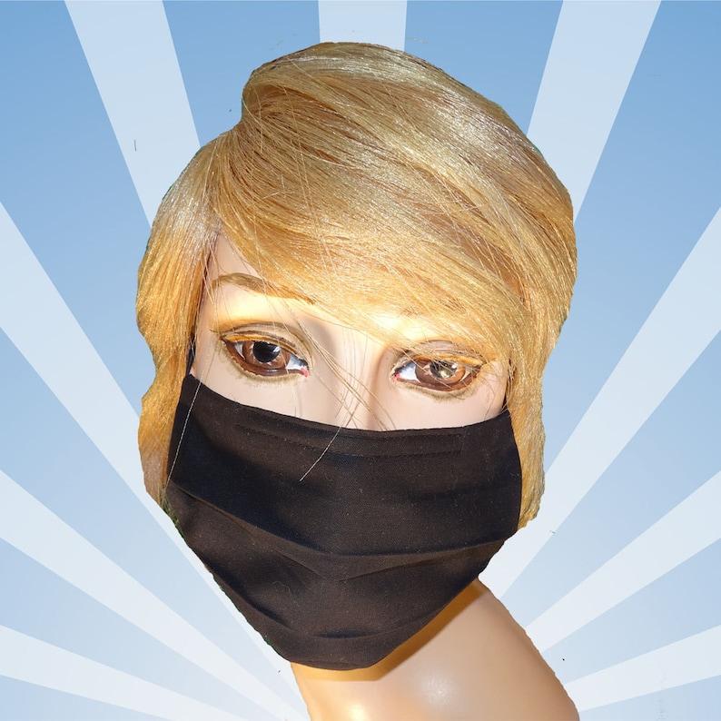black mask surgical