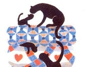 CATS and QUILTS Series by Diane Graebner Cross Stitch Pattern Rare