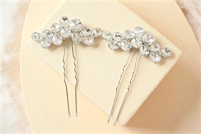 Rhinestone Hair Pins,Bridal Hair Pins,Wedding Hair Pins,Crystal Hair Pins,Bridal Hair Piece,Wedding Hair Piece,Crystal Hair Piece,Bridal