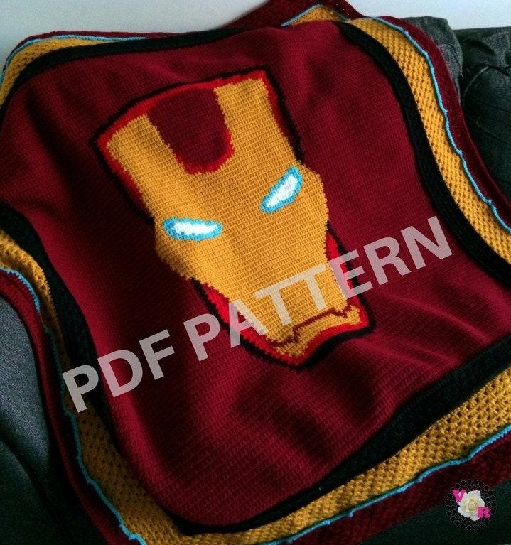 Iron Man Amigurumi Pattern Marvel Comics Avengers Plush | Etsy | 767x719