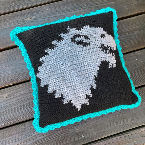 GOT Stark Crochet Graphghan Pillow Pattern (PDF file only) - inspired by HBO's Game of Thrones