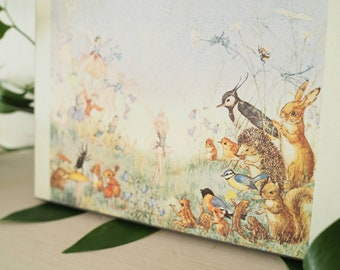 Vintage Molly Brett Fairy Print - Vintage Fairy Illustration