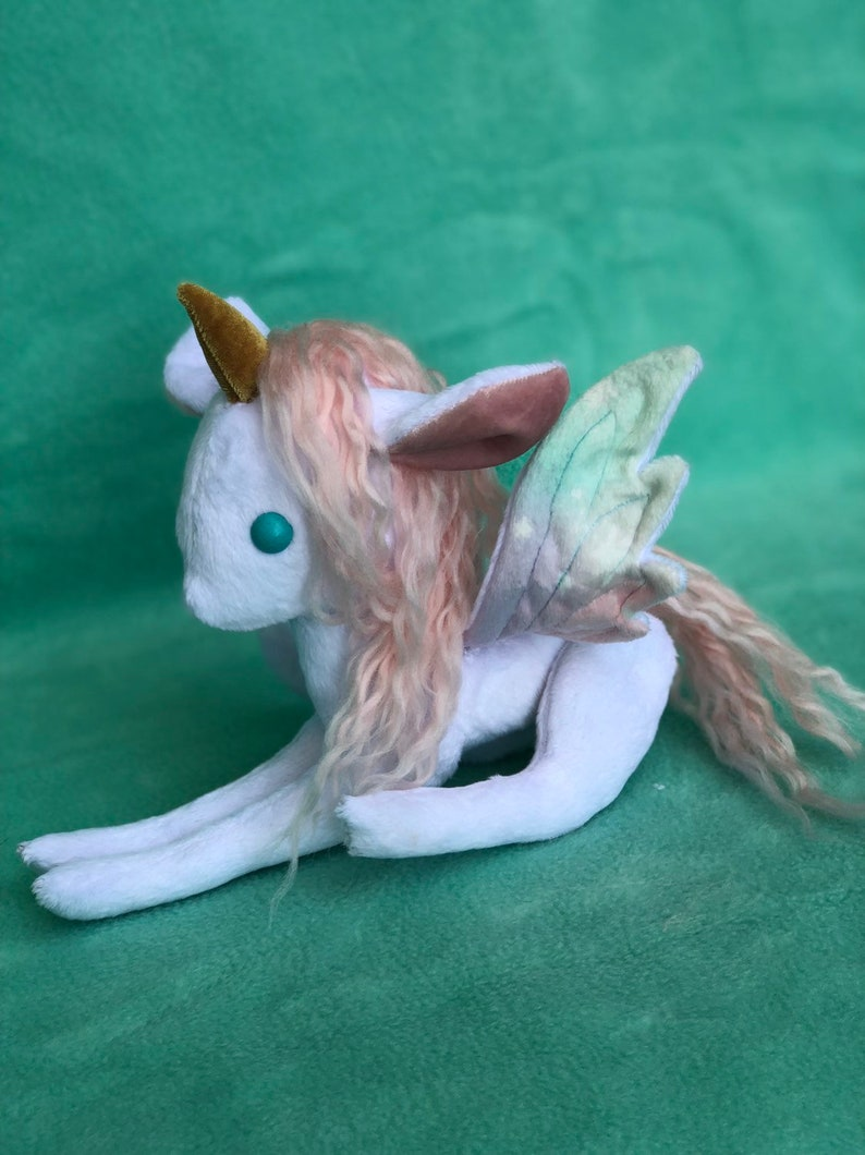 Unicorn Pegasus Cuddle Plush