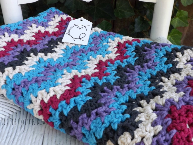 Baby Blanket Ric Rac Baby Blanket pictured RTS Crocheted Baby Blanket