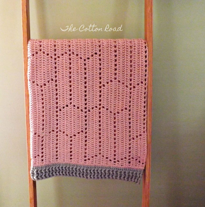 Baby Blanket Crocheted Blanket Reese Baby Blanket