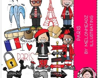 Paris clip art - COMBO PACK
