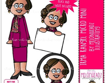 Irma Rangel clip art - Micro Mini