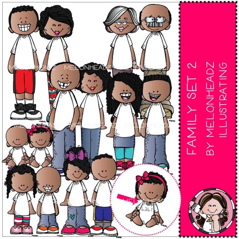COMBO PACK Family clip art Set 2