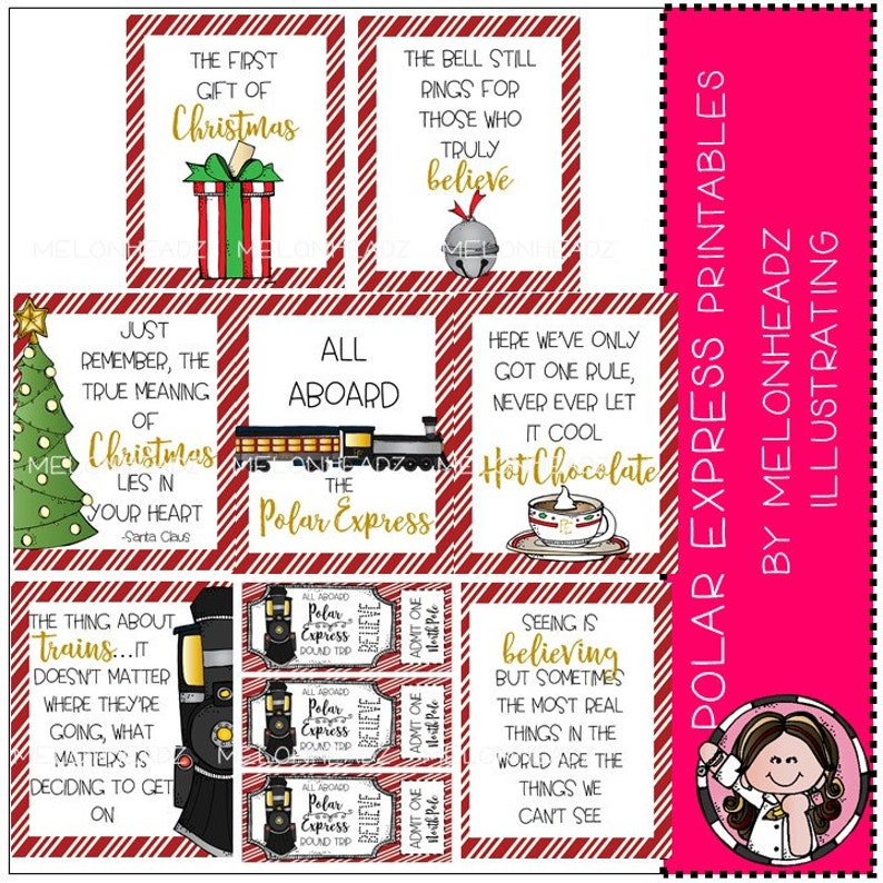 picture relating to Polar Express Tickets Printable known as Polar Categorical Posters and Tickets - Printables