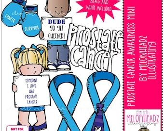 Prostate Cancer Awareness clip art - Mini