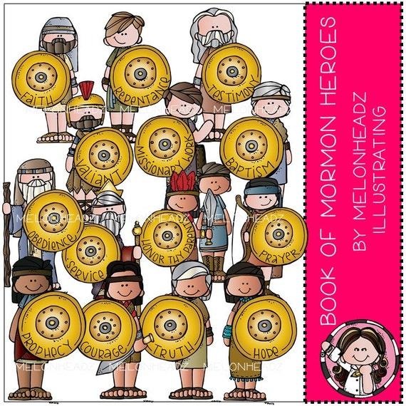 Libro de Mormón héroes clip de arte COMBO PACK | Etsy