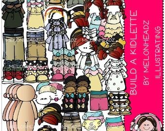 Build a Kidlette clip art - Combo Pack