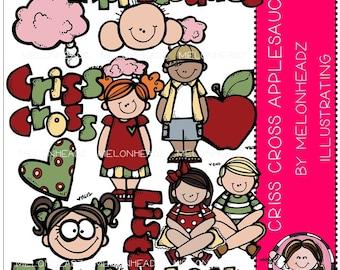 Criss  Cross Applesauce clip art
