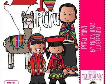 Peru clip art - Mini - by Melonheadz