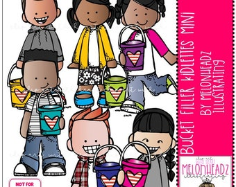 Bucket Filler Kidlettes clip art - Mini