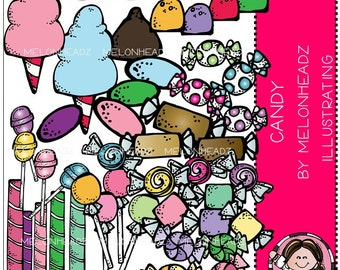 Candy clip art - Combo Pack