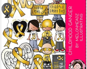 Childhood Cancer clip art - Awareness