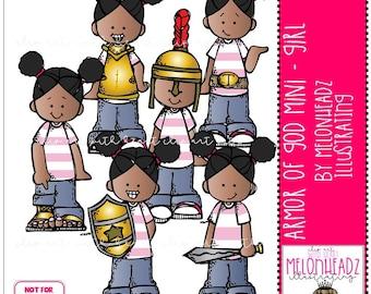 Armor of God clip art - Girl - Mini