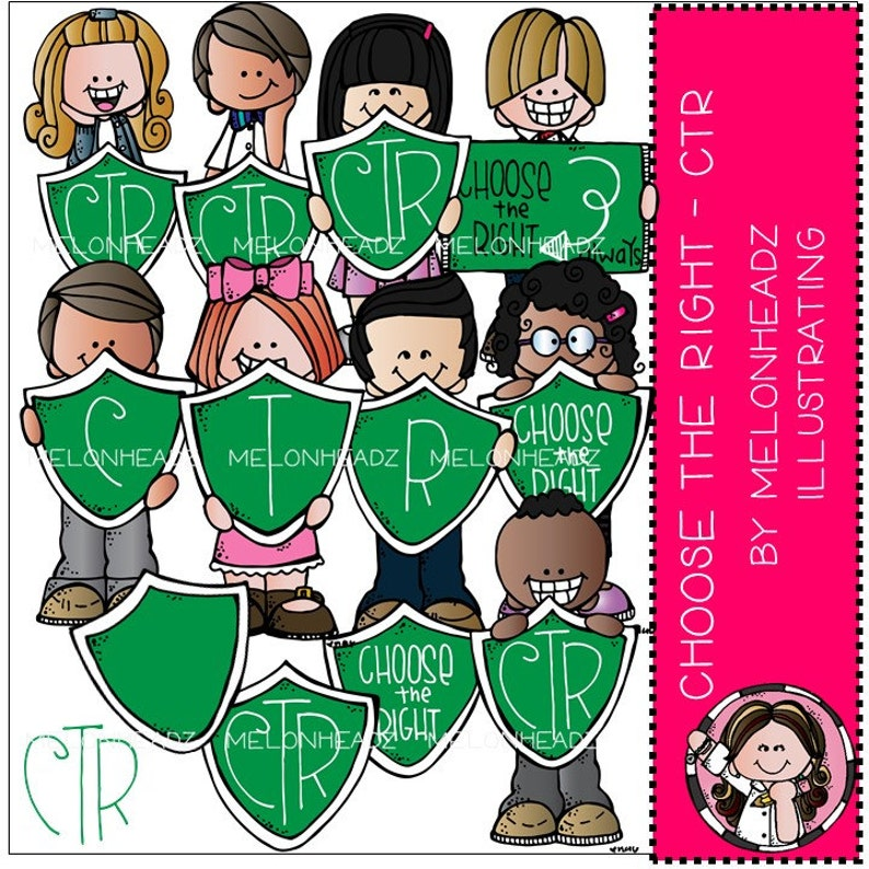 Combo Pack Choose the right clip art