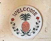 Pennsylvanian Hex Sign By Jacob Zook Welcome Hex Wilommen The Moyer Family Folk Art Pennsylvania Dutch