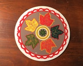 Pennsylvanian Hex Sign By Jacob Zook Maple Leaves The Moyer Family Folk Art Pennsylvania Life 39 s Beauty Yellow Red Green