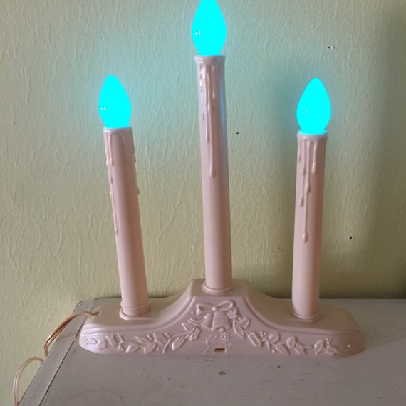 Christmas Window Candles.Christmas Window Candles Candelabras Electric Christmas Lights Plastic Window Light Flameless 3 Light Set Cool Bright Candolier