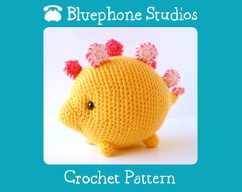 Crochet Pattern: Susan the Stegosaurus