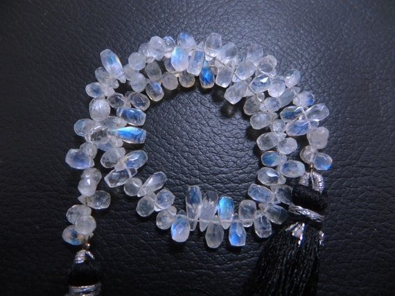 Ethiopian Opel 18 Inches Line 26.35 Caret good Quality Natural Stone Smooth polish tumbled Beads Size 3x5 To 3x9 mm