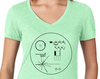 Voyager Spacecraft, Outer Space Shirt for Her, Sci Fi Shirt, Astronomy
