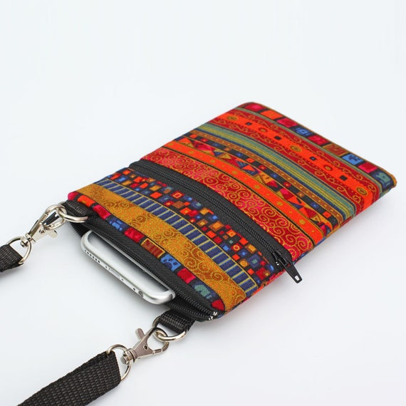 e04eb9996636 Small Travel Bag Cell Phone Case Crossbody Smartphone Sling