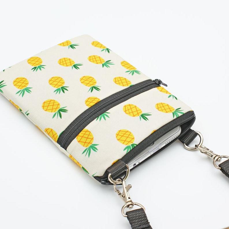 IPhone 8 Plus Zip Shoulder Bag Galaxy S8 Crossbody Bag