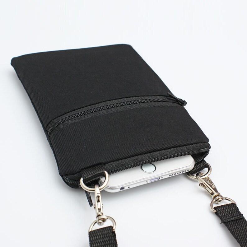 61efb13df0fa Phone Crossbody Sling Bag Travel Cell Phone Purse Fits