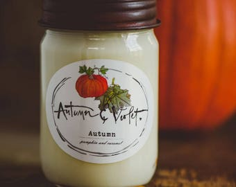 Autumn- 12 oz. Soy Candle