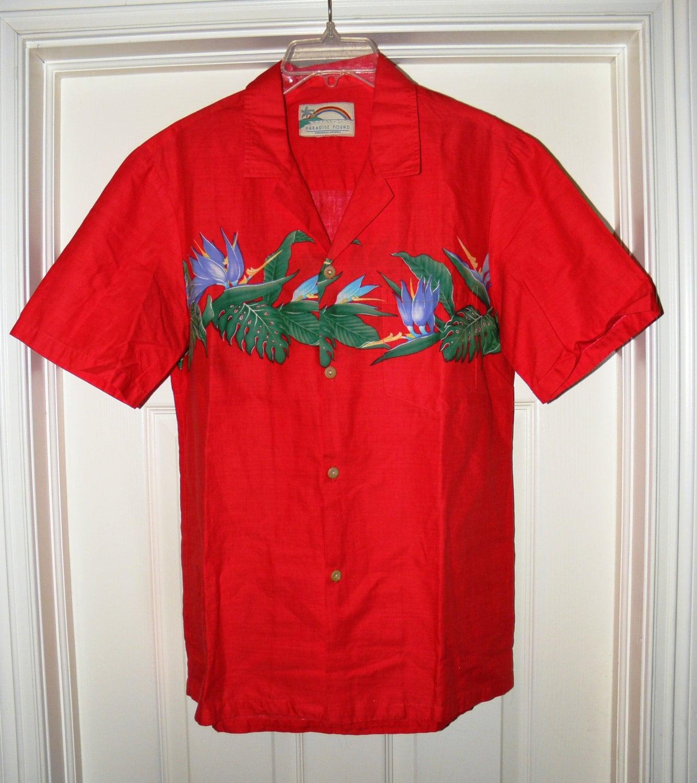 1960s – 70s Men's Ties | Skinny Ties, Slim Ties Vintage Paradise Found Mens Hawaiian Cotton Shirt - 1960s From Dustymillerantiques $30.00 AT vintagedancer.com