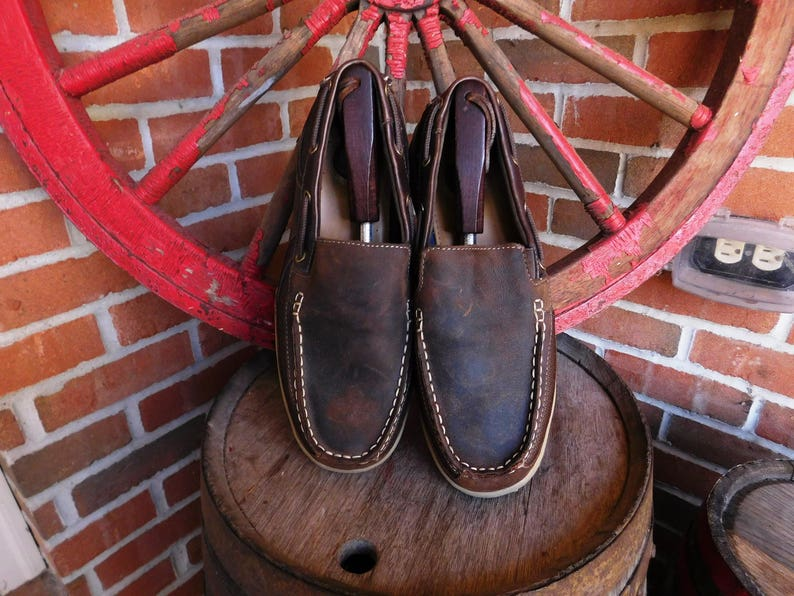 e7fd7bff8461 Vintage Croft   Barrow Core Technology Men s Brown Leather