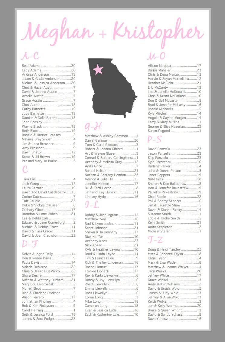 Wählen Sie Ihre Staat Hochzeit Sitz Diagramm Bedruckbar Etsy