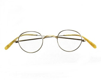 aa33007ecdc56 Antique Victorian Style Reading Spectacles Glasses Eyeglasses Gold Toned
