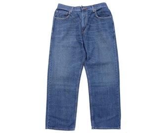 c210b6c37bd Original Vintage Levis Levi 569 Jeans Mens Blue Denim Loose Straight W34 L30