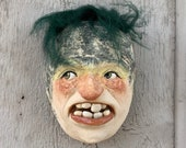 WALL FACE MASK - The next best thing to having an imaginary friend.