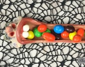 JAW DROPPORS -  hand sculpted, relish tray, candy tray, incense burner. Just a friendly little face to brighten your day. (JD12)