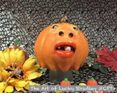 CERAMIC PUMPKIN, wheel th...