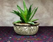 FOOTED BOWL/PLANTER - Thi...