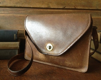 Brown Leather Handbag df7cb7e7103aa